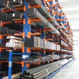 Storage of long items_Cantilever rack