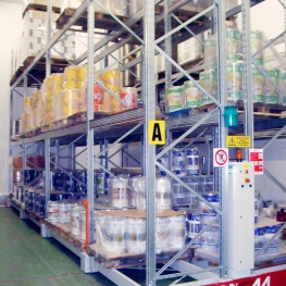 Storage of food products